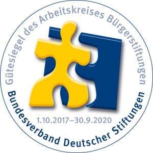 Gemeinschaftsstiftung Mein Augsburg - IBS Gütesiegel Arbeitskreis Bundesverband Deutscher Stiftungen 2017-2020