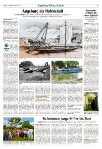 Augsburger Allgemeine_So kommen junge Stifter ins Boot_17082018